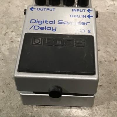 Boss DSD-2 Digital Delay Sampler Pedal