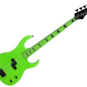 Dean Dean 4-String Bass Custom Zone 4 Nuclear Green