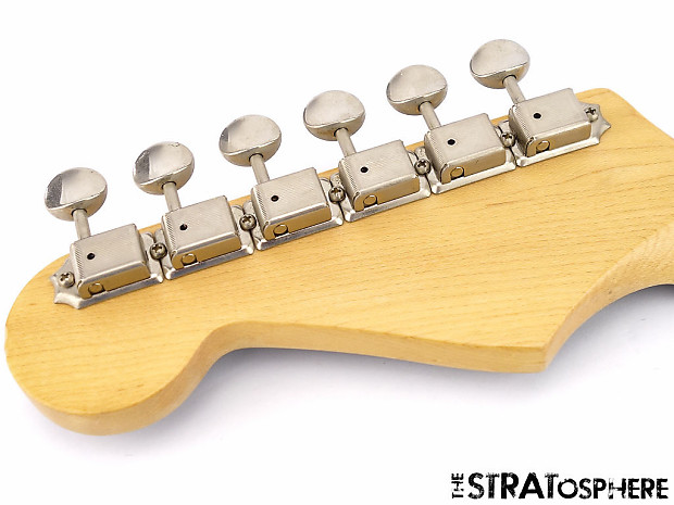 fender aerodyne stratocaster strat neck tuners guitar reverb. Black Bedroom Furniture Sets. Home Design Ideas