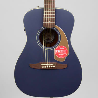 Fender Malibu Player Acoustic-Electric Guitar | Midnight Satin for sale