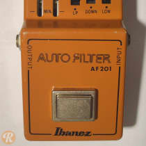Ibanez AF-201 Auto Filter 1980s Orange image