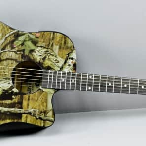 New Indiana Mossy Oak Acoustic/Electric Guitar for sale