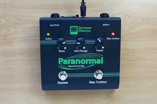 Seymour Duncan SFX-06 Paranormal Bass DI Box: Perfect Your | Reverb