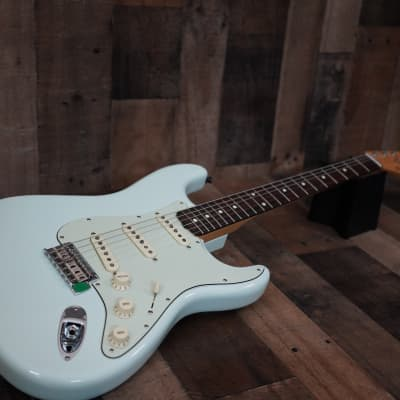 Fender Classic Player '60s Stratocaster with Rosewood Fretboard 2016 Sonic Blue Custom Shop Designed for sale