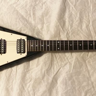 Davison V style Black Electric Guitar for sale