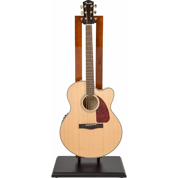 Cherry w// Black Base New Genuine Fender Hanging Guitar Display Stand