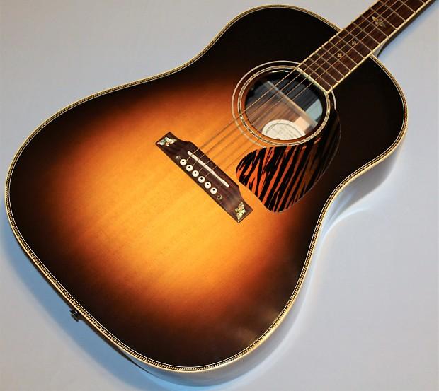 2015 gibson j 45 custom acoustic electric guitar plays reverb. Black Bedroom Furniture Sets. Home Design Ideas