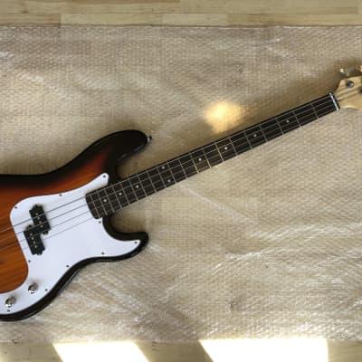 Gears4Music LA P-Bass Electric Bass Guitar for sale