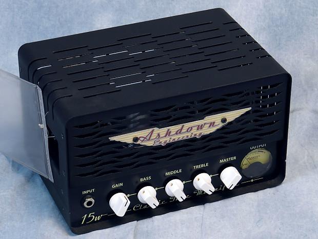 used ashdown valve ctm 15 15 watt all tube bass amp head reverb. Black Bedroom Furniture Sets. Home Design Ideas