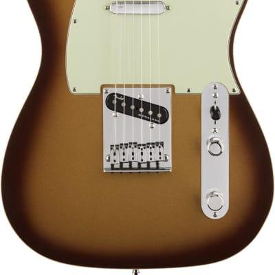 Fender American Ultra Telecaster Maple Fingerboard Mocha Burst With Case