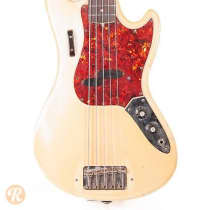 Fender Bass V 1966 Olympic White image