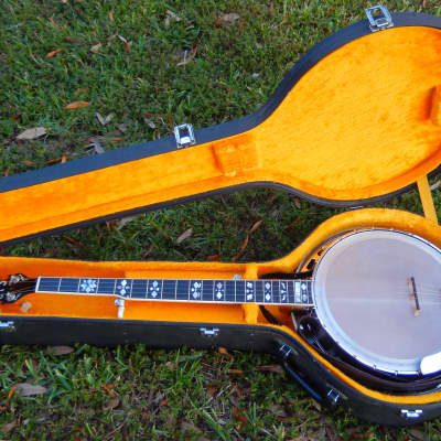 Vintage Gold Star G12 Archtop 5-string Banjo with Case and Gibson Strings for sale