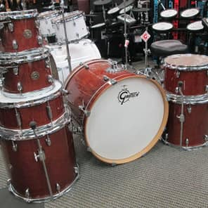 "Gretsch Catalina Maple Series 10"" / 12"" / 14"" / 16"" / 22"" / 6x14"" 6pc Kit w/ Free 8"" Tom (7pc)"