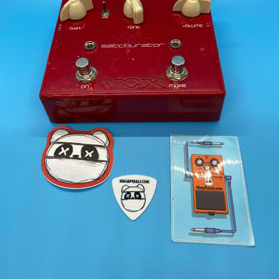 Vox Satchurator Joe Satriani Signature Distortion Pedal | Fast Shipping!