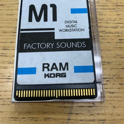 Korg M1 RAM Card Factory Sounds, Amazing condition and works