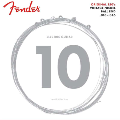 Fender 150R Pure Nickel Ball End 10-46, Electric Guitar Strings S-S150R