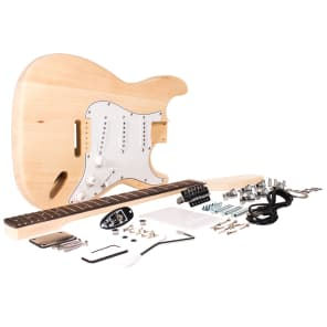 Seismic Audio SADIYG-01 Premium Strat-Style DIY Electric Guitar Kit