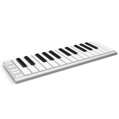 CMS Xkey Mobile MIDI Musical Keyboard, 25 Key, Silver