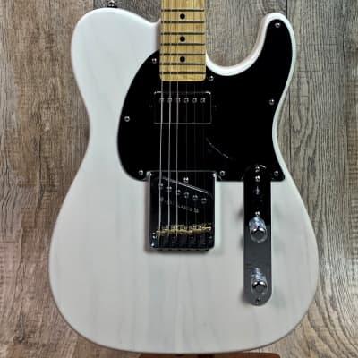 G&L Fullerton Deluxe ASAT Classic Bluesboy Blonde MP w/case 6.85 lbs for sale