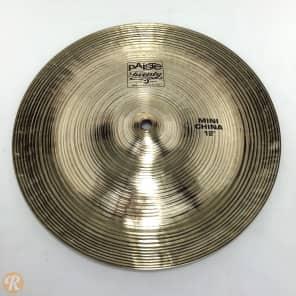 "Paiste 12"" Twenty Series Mini China Cymbal"