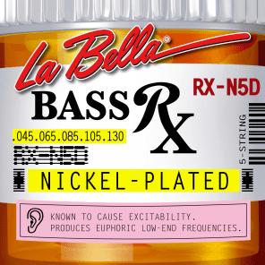 La Bella Bass Strings Rx Nickel Plated 5-String RX-N5D .045-.130