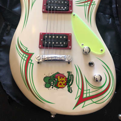 Lace Rat Fink Big Daddy Ed Roth guitar 2002 white for sale