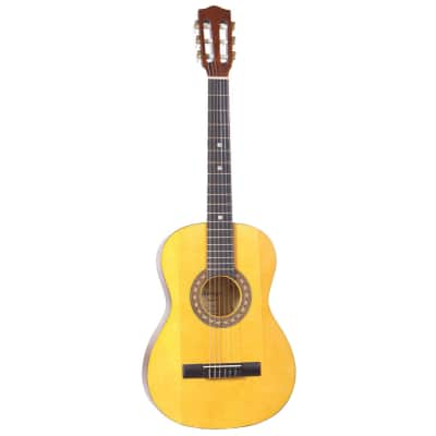 Amigo AM30 Classical  3/4 Size Nylon String 6-String Acoustic Guitar - Natural for sale