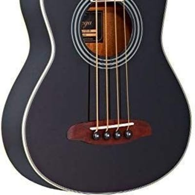 Ortega D-WALKER-BLACK Deep Series Extra Short Scale Acoustic Bass - Blem #XZ77 for sale