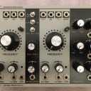 Verbos Electronics Complex Oscillator (2014 version) with vactrols and black Rogan RB knobs