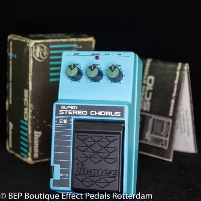 Ibanez SC10 Super Stereo Chorus s/n 238490 mid 80's Japan