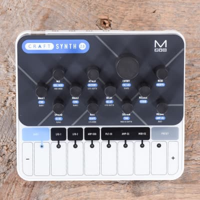 Modal Electronics Craft Synth 2.0 Portable Monophonic Synthesizer USED