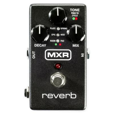 MXR M300 Digital Reverb Delay True Bypass Guitar Stompbox Effects Pedal