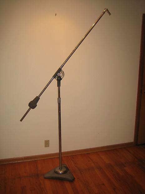 Big Vintage Atlas Studio Boom Microphone Stand Reverb