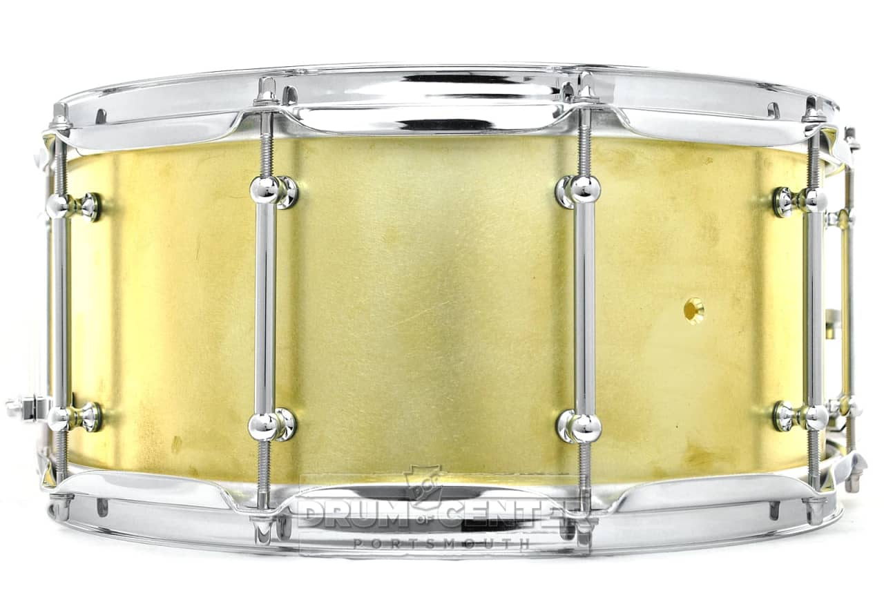 Keplinger brass snare drum 14x6 5 reverb for Yamaha stage custom steel snare drum 14x6 5