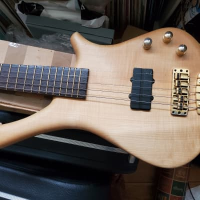 Warwick Fortress Masterman 5 string GPS German-made flame maple rare! for sale