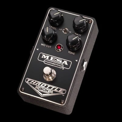 MESA/Boogie Throttle Box Overdrive Pedal - Throttle Box Overdrive Pedal for sale