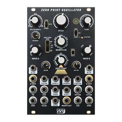 Steady State Fate Zero Point Oscillator Black