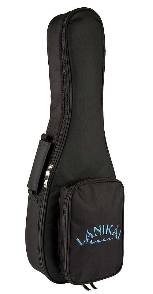 Lanikai CDST-S Solid Cedar Top Soprano Ukulele Natural w/ Gig Bag