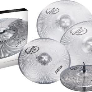 "Sabian QTPC504 Quiet Tone Low Volume 14 / 16 / 18 / 20""  Cymbal Pack"