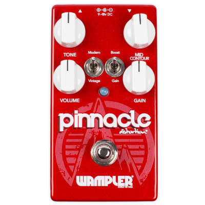 New Wampler Pinnacle V2 Distortion Guitar Effects Pedal!