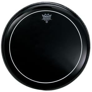 "Remo Pinstripe Ebony Drum Head 18"""