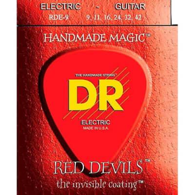 DR RDE-9 Red Devils Electric String Set, 9-42
