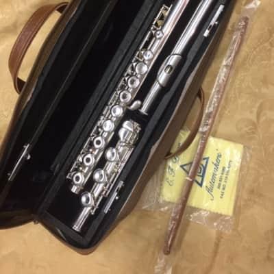 EF Dean Solid Sterling Flute-AF780-Open Hole, Inline G, B Foot-NOS w/Warranty!