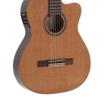 ADMIRA Admira Virtuoso cutaway electrified classical guitar with thin body, Electrified series VIRTUOSO-ECTF for sale