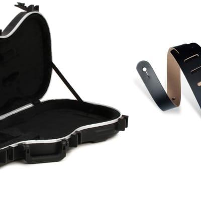 SKB 1SKB-FS-6 Shaped Standard Electric Guitar Case + Levy's DM1 3