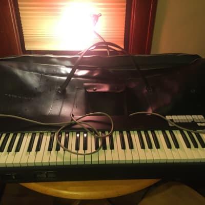 Univox Compact 2 Keyboard 1970's Original Black