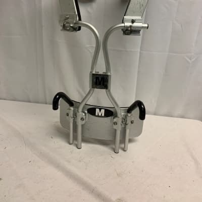 Pearl Randy May Bass Drum Harness Carrier Brushed Aluminum