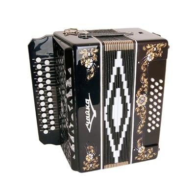 S6XL-A-BLACK Harmonica 25x25-II  Harmonica Shuya