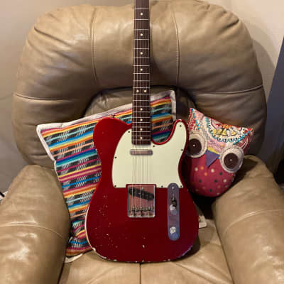 Fender Custom Shop '63 Reissue Telecaster Relic 1999 Candy Apple Red for sale