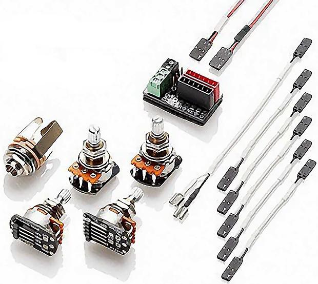 Emg 3880 Hz Solderless Wiring Kit For Passive Humbuckers  2